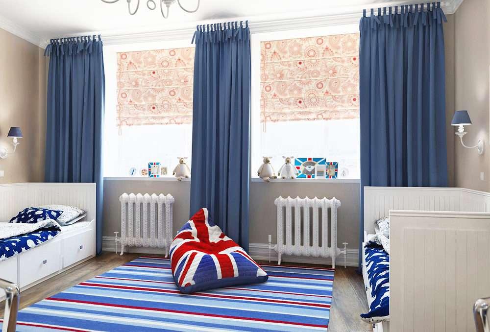 Где купить шторы для детской комнаты для мальчика