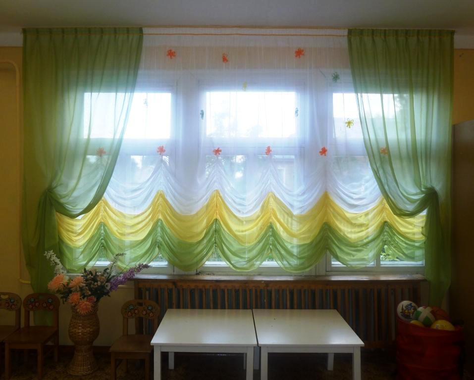 Дизайн штор для детского сада – выбираем лучшие модели